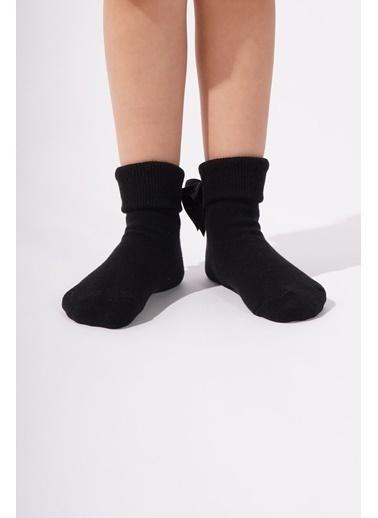 Katia & Bony Newyork Çocuk Soket Çorap  Siyah